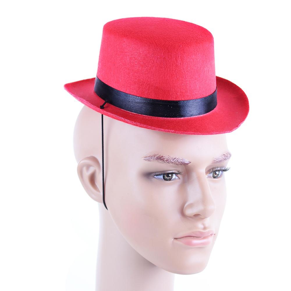 ef8aaa1d312 klobouk buřinka mini červená (od 15 let)