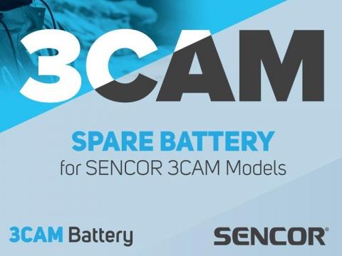 Baterie pro akční kamery SENCOR 3CAM