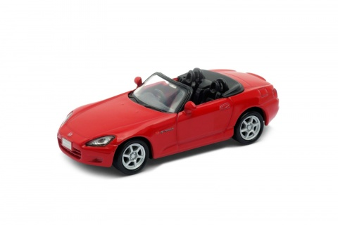 Welly - Honda S2000 (Japanese version) model 1:34 červená