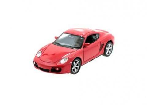Welly - Porsche Cayman S 1:34 červené