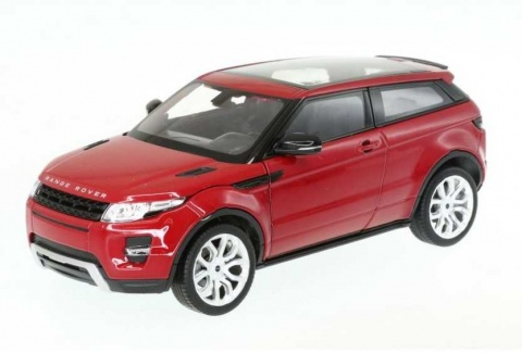 Welly - Land Rover Range Rover Evoque 1:34 červený
