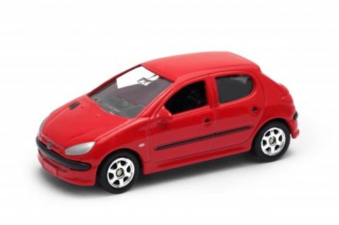 Welly - Peugeot 206 model 1:60