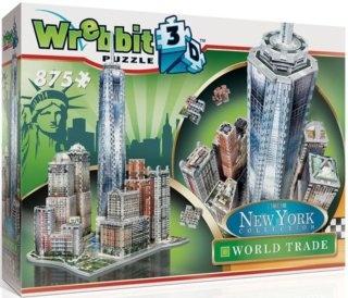 WREBBIT 3D puzzle New York World Trade 875 dílků