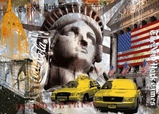RAVENSBURGER Puzzle Metropole New York 9000 dílků