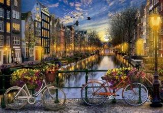 EDUCA Puzzle Romantický Amsterdam 2000 dílků