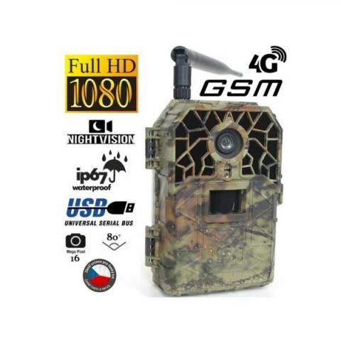 Fotopast BUNATY WIDE FULL HD GSM 4G + 32GB SD karta, 8ks baterií a doprava ZDARMA!