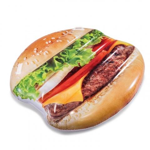 nafukovací lehátko Hamburger, 145 x 142 cm (od 14 let)