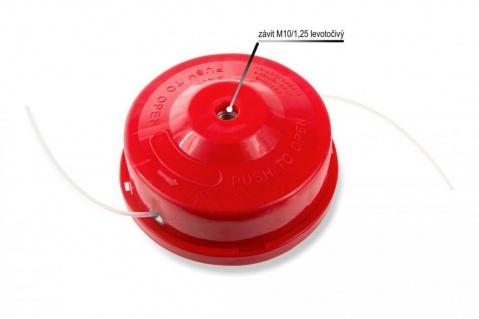 Strunová hlava, závit M10 - bez šroubu (červená) MAR-POL