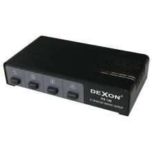 DEXON Přepínač reprosoustav 1/4 PS 140