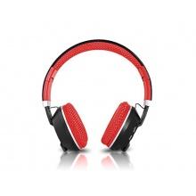 Sluchátka přes hlavu LTC LXBT1001 MIZZO RED BLUETOOTH