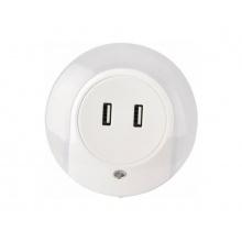 Svítidlo s pohybovým senzorem LED IMMAX + USB nabíječka 08942L