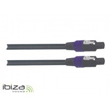 Vodič speakon IBIZA 15m, 2x1,5mm2 vodič
