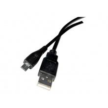 Kabel TIPA USB 2.0 A/Micro USB 1m černý