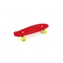 Dětský skateboard TEDDIES RED