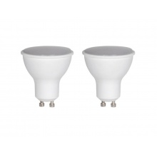 Žárovka LED SPOT GU10 5W RETLUX REL 8 bílá teplá duopack