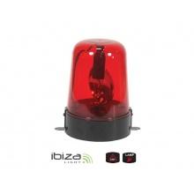 Majáček IBIZA JDL009R-LED červený 12/220V