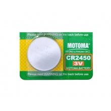 Baterie CR2450 MOTOMA lithiová