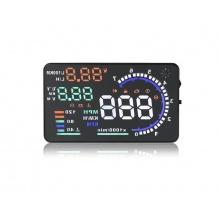 Monitor do auta  s HUD projekčním displejem 5,5