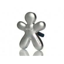Osvěžovač vzduchu NIKI fresh air - stříbrná matná, vyměnitelná náplň