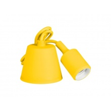 Svítidlo lampička závěsná - přívodní kabel LED Retlux RFC 009 kabel žlutý  E27 230V