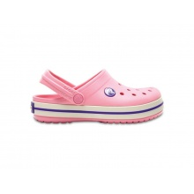 Boty Crocs Crocband Kids - Peony Pink/Stucco J2 (33-34)