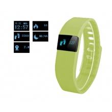 Náramek FT64, OLED, Bluetooth 4.0, Android+iOS zelená