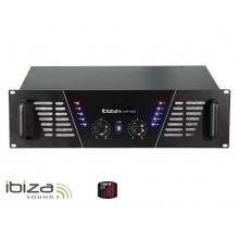 Zesilovač IBIZA 2x1500W AMP2000 černý