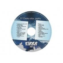 Karaoke DVD ČESKO-SLOVENSKÉ PECKY