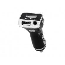 Transmitter do auta FM BLOW + USB nabíječka 2.1A