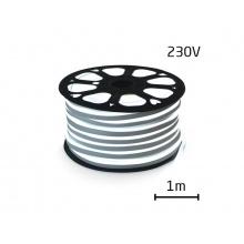 LED neon flexi hadice 230V 120LED/m 12W/m studená bílá (1m)