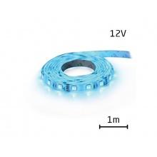 LED pásek 12V 5050  60LED/m IP20 max. 14.4W/m modrá (1ks=1m)
