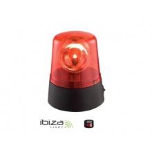 Majáček IBIZA JDL008R-LED červený, nepravidelně blikající