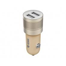 Nabíječka do auta USB 2x 2.4A Yenkee YAC 2048GD