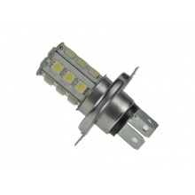 LED žárovka 12V, H4, 18LED/3SMD