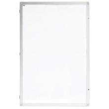 Vertikální vitrína Eco - lakovaná výplň - 60 x 90 cm