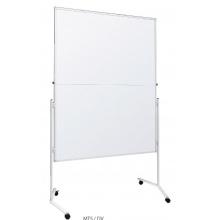 Moderační tabule lakovaná 120 x 150 cm - skládací