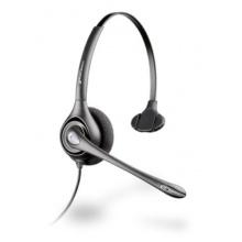 HW351N/A Plantronics - SupraPlus náhlavní souprava, na jedno ucho, spona přes hlavu, NC, stříbrná (82311-41)