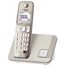 KX-TGE210FXN Panasonic - DECT bezdrátový telefon s velkým displejem pro seniory, kompatibilní s naslouchátkem