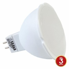 MR163530-4 Tesla - LED žárovka GU5,3 MR16, 3,5W, 12V, 230lm, 25 000h, 3000K teplá bílá, 100°