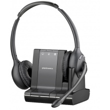 SAVI-W720/A Plantronics - bezdrátová náhlavní souprava pro stolní telefon, mobil a PC - na obě uši