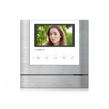 CDV-43M bílý, barevný handsfree videotelefon, 4.3'' LCD, 2 video vstupy, dotyková tlačítka, Commax