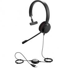 EVOLVE-20-MONO-MS Jabra - náhlavní souprava pro PC, USB, spona přes hlavu, na jedno ucho (4993-823-109)