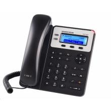 GXP-1625 Grandstream - IP telefon, LCD, 2x SIP účty, 2 linky. 2x RJ45 Mb, POE, HD audio, podsvícený LCD