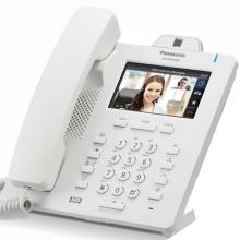 KX-HDV430NE Panasonic - SIP telefon, 4řádkový displej, vestav. kamera, 24 progr. tlač., bloetooth, NS/HTS, bílá