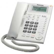 KX-TS880FXW Panasonic - jednolinkový telefon, displej, CLIP, konektor pro n.s. 2,5mm, speakerphone, barva bílá