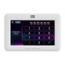 TM50 - bílá, grafická EZS klávesnice s barevným dotykovým 5