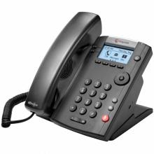 2200-40450-025 Polycom VVX 201 - IP telefon, 2 linkový, 2x 10/100 Eth, HD Voice, POE, bez napájecího zdroje