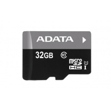 A-Data microSDHC 32GB class 10 UHS-I SD adapter