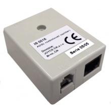 ADSL-SPLITTER ADSL/VDSL splitter, Annex B, 2x RJ11 / 1x RJ45