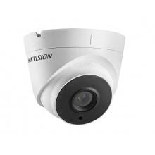 DS-2CE56C0T-IT3F/28, venkovní dome AHD/TVI/CVI/CVBS kamera 1 Mpx, f2.8mm, EXIR IR 40m, Hikvision